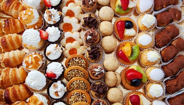 Pastries and Desserts to reduce testosterone